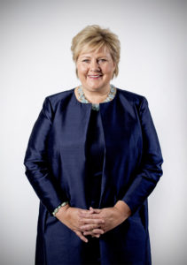 Erna Solberg, Prime Minister of the Kingdom of Norway | © Office of the Prime Minister
