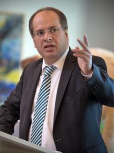 Dr. Irfan Ortac, Vorsitzender des Zentralrats der Eziden in Deutschland | © ZED