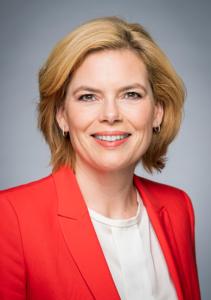 Julia Klöckner, Bundesministerin für Ernährung und Landwirtschaft | © BPA/Steffen Kugler