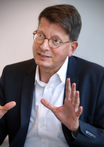 Moritz Döbler, Chefredakteur der Rheinischen Post | © Andreas Krebs