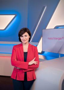 Die Moderatorin und Fernsehjournalistin Sandra Maischberger | © Markus Tedeskino