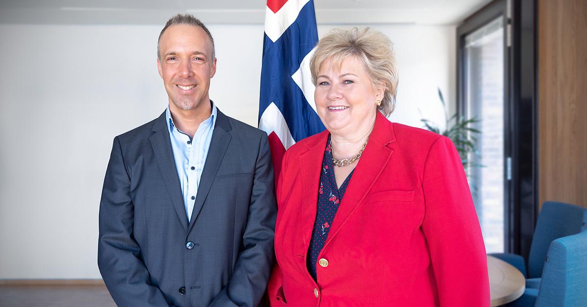 Erna Solberg Prime Minister Of The Kingdom Of Norway Gesichter Der Demokratie