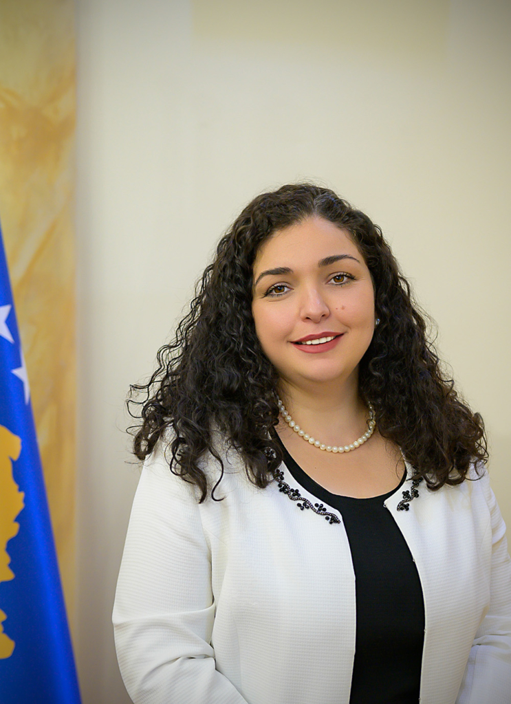 Dr. Vjosa Osmani-Sadriu, Acting President of the Republic of Kosovo